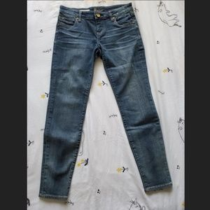 Klut from the Kloth Mia Toothpick Skinny Jeans